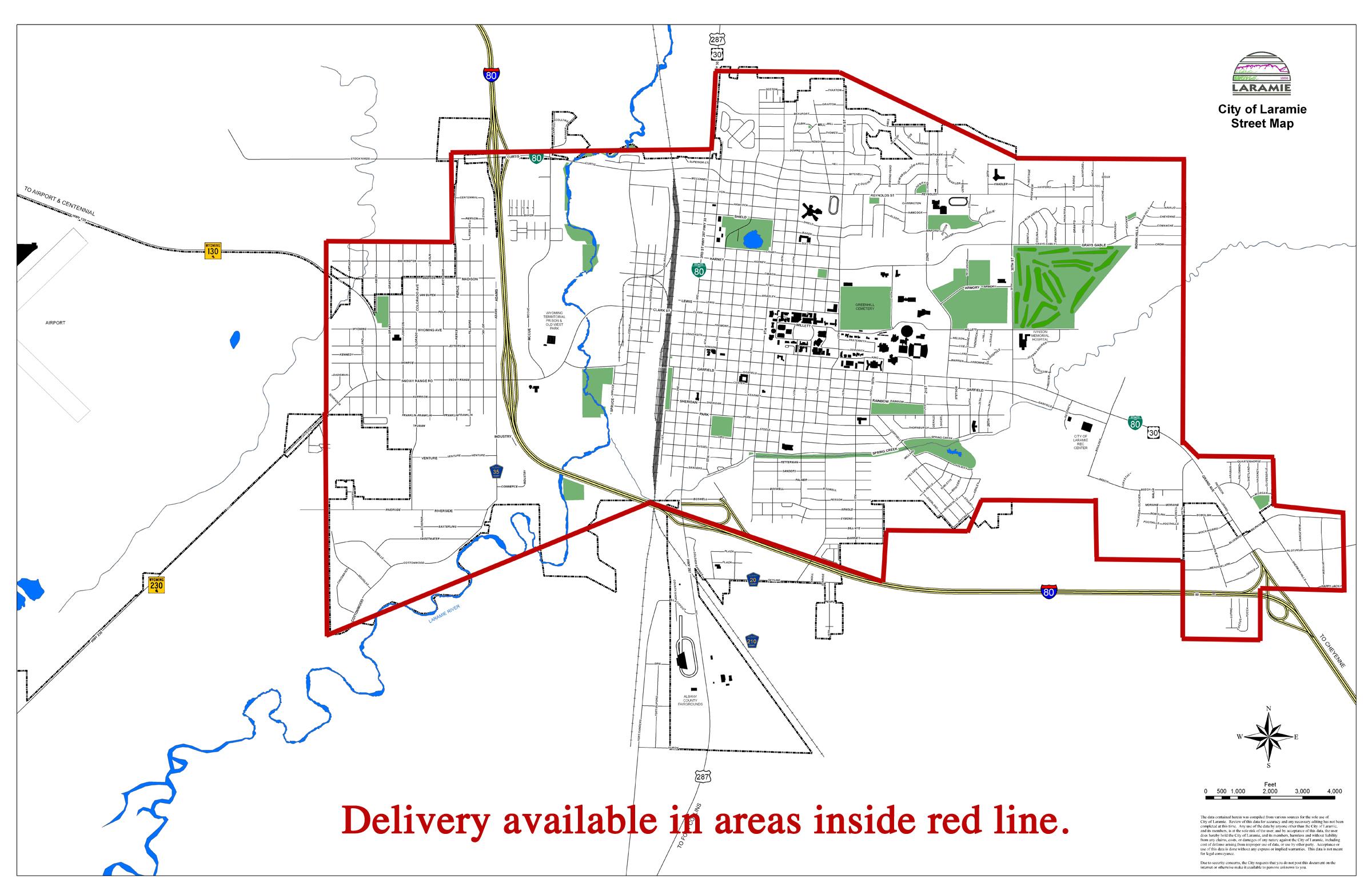 City Street Map