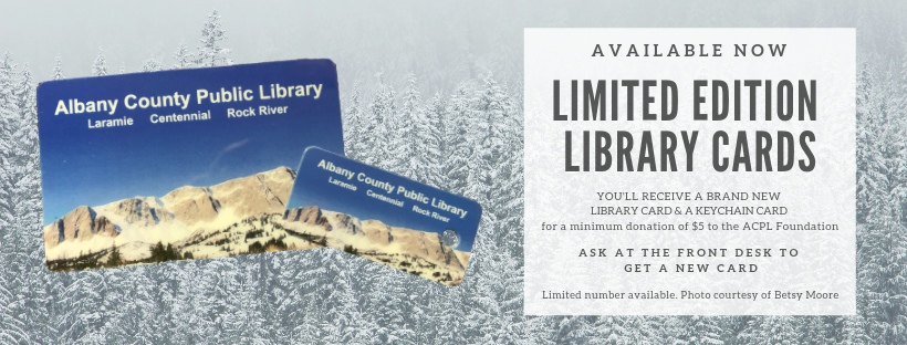 Copy of Limited Edition Library cards